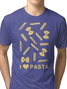 I love pasta paste species Tri-blend T-Shirt