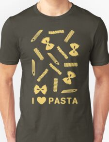 I love pasta paste species Unisex T-Shirt