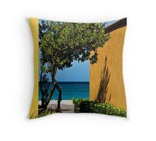 Caribbean Colour Throw Pillow
