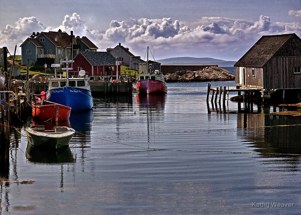 Peggy's Cove by Kathy Weaver