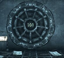 Fallout Vault 101 Entrance by Obercostyle