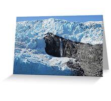 Glacial Flow Greeting Card