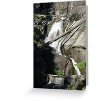 Bear Creek Falls III Greeting Card