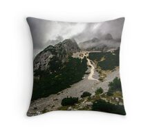 Slovenia Alps Throw Pillow