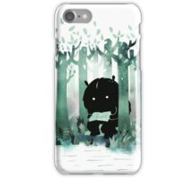 A Quiet Spot in Green iPhone Case/Skin