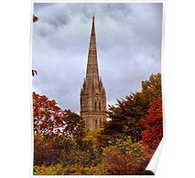 Through Autumn Shades Poster