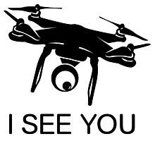 I'll see you Drone Photographic Print