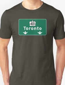 Toronto, Road Sign, Canada  T-Shirt