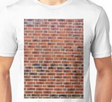 Brick wall with joints.  Unisex T-Shirt