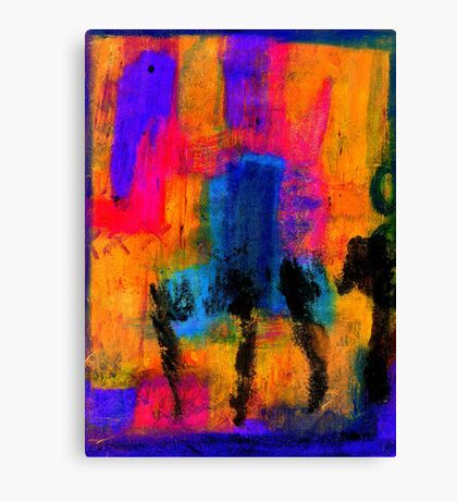 Woman with Three Legs Canvas Print