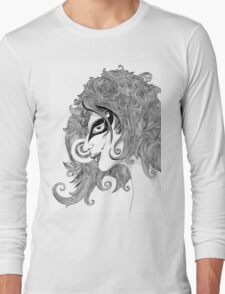 Winds in hair Long Sleeve T-Shirt