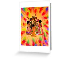 Sisterhood in FULL Effect Greeting Card