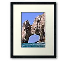 Los Cabos Arch Framed Print