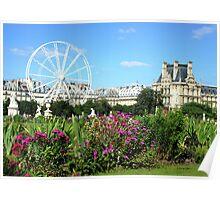 Jardin des Tuileries - Paris Poster