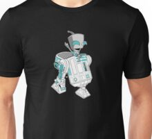 Two little robots - colour version Unisex T-Shirt