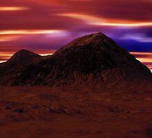Mountain Winter's Night by David Alexander Elder