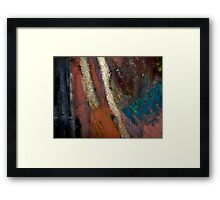 Rough Passage II Framed Print