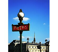 The Metro - Paris Photographic Print