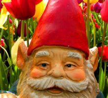 Bright Canopy Gnome Sticker