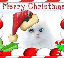 Merry Christmas Kitty by missmoneypenny