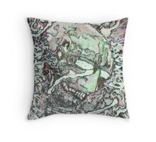The Insomniac Throw Pillow