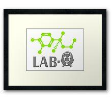 Adrenaline Lab-Rat VRS2 Framed Print