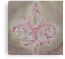 Hope Fleur-de-lis Canvas Print