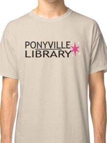 Ponyville Library Tee Classic T-Shirt