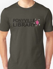 Ponyville Library Tee T-Shirt