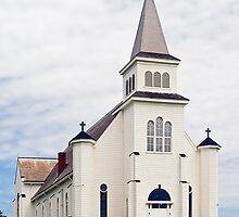 Church on Prince Edward Island, Canada by Kenneth Keifer