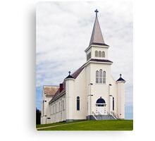 Church on Prince Edward Island, Canada Canvas Print
