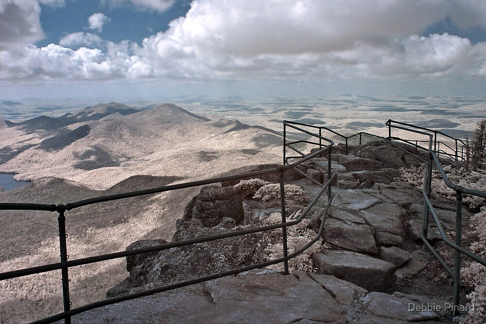 The Top of the World - Whiteface Mountain, New York by Debbie Pinard