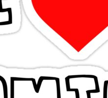 I Heart Gaming Sticker