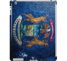 Michigan Grunge iPad Case/Skin