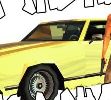 Grand Theft Cholo Sticker