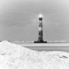 Morris Island Lighthouse by Randall Faulkner