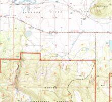 USGS Topo Map Oregon Sprague River East 281584 1998 24000 Sticker
