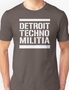Detroit Techno Militia T-Shirt