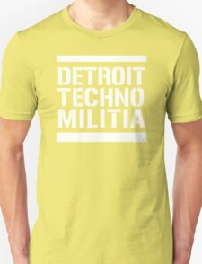 Detroit Techno Militia T-Shirt