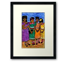 New Sunday Shoes Framed Print