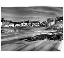 Stonehaven Harbour Poster
