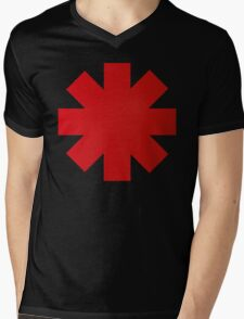 Red Hot Chilli Peppers RHCP Mens V-Neck T-Shirt