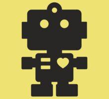 Robot - Simple Black Kids Clothes