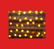 Defocused and blur image of yellow round light bulb Unisex T-Shirt
