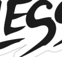DJ Alesso Cool Logo Products!  Sticker
