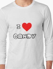 I Heart Candy Long Sleeve T-Shirt