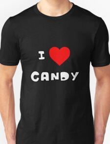 I Heart Candy Unisex T-Shirt