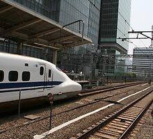 Tokyo Railway Station by Digital Editor .
