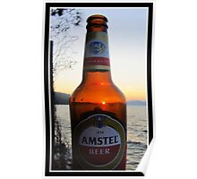 Sunset in a bottle ...... Poster