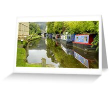 The Rochdale Canal Greeting Card